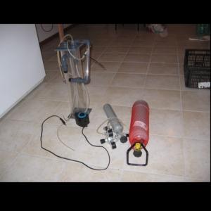 Reattore calcio usato